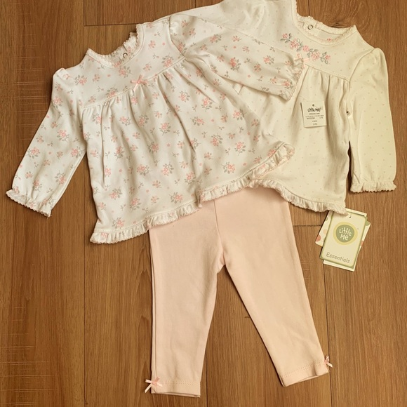Little Me Other - Little Me Infant Girls 3 Piece Tunic Set NWT